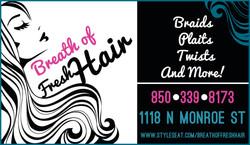 Breath of Fresh Hair Ad