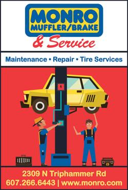 Monro Car Repair & Maint. Ad