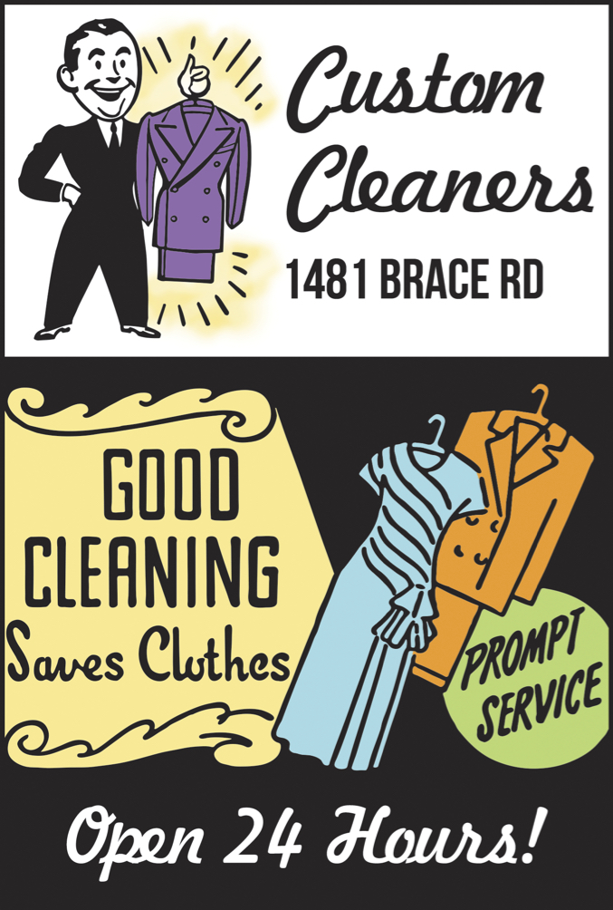 Custom Cleaners Ad