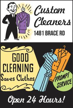 Custom Cleaners Ad