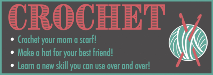 Crochet Quarter Page Ad