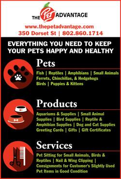 The Pet Advantage Ad