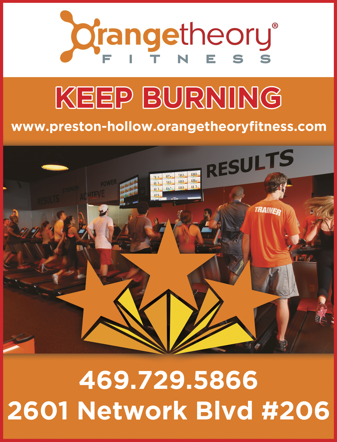 Orange Theory Fitness Ad