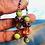 Thumbnail: Fresh green long earrings silver