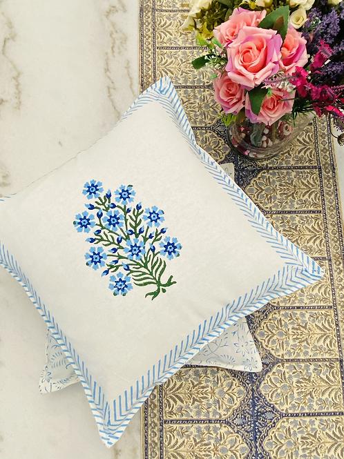 Set of 2, Block print pillow case