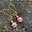 Thumbnail: Single charm gold earring