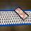 Thumbnail: Royal blue block print Table Runner