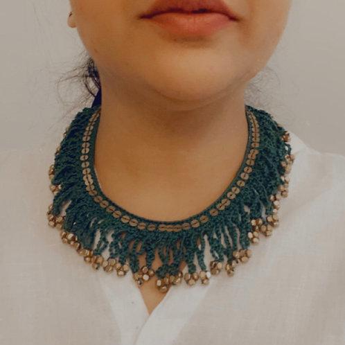 Crochet Boho Necklace