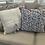 Thumbnail: Set of 2 pieces Handblock printed pillow cases 20 x20