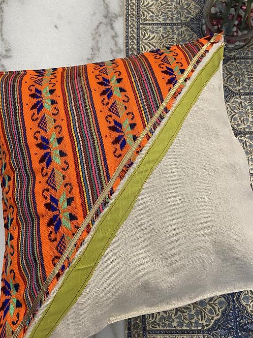 Set of 2 ,Natural linen pillow case
