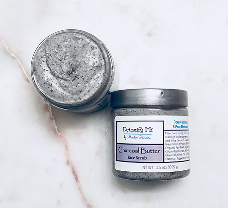 Charcoal Butter Face Scrub