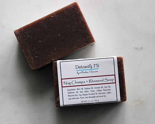 Nag Champa + Rhassoul Soap