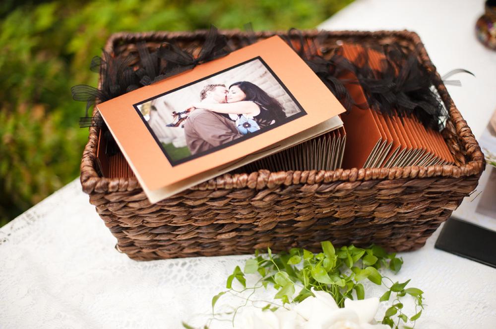 Photo wedding programs