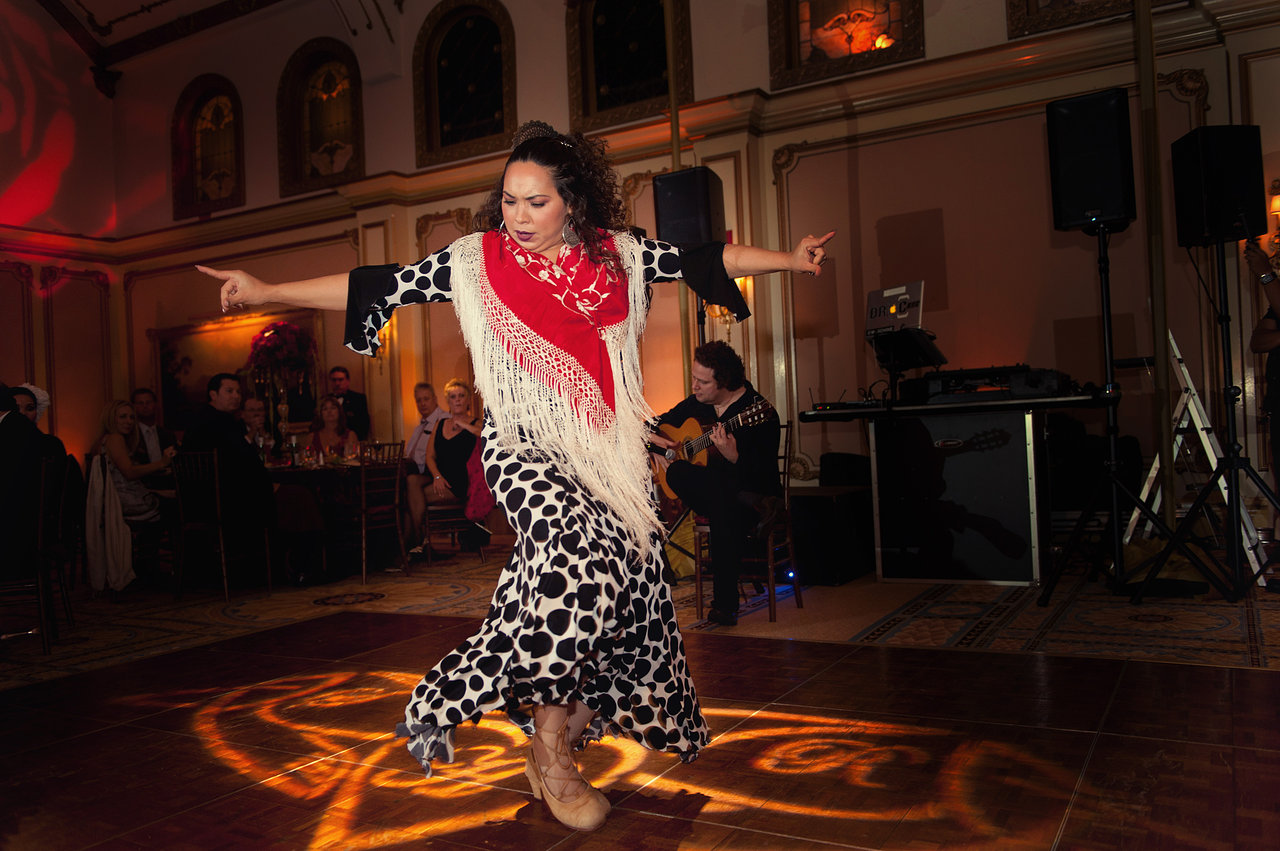 Flamenco Dancer with Adam Del Amonte