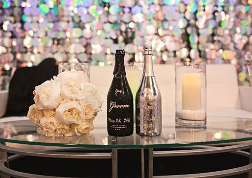Custom Champagne Bottles