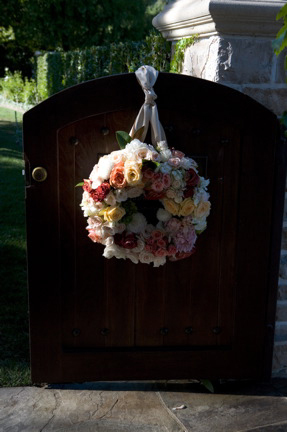 Entry Gate with Wreath