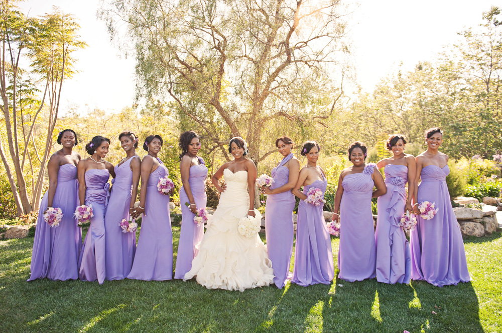 Stunning Bridal Party