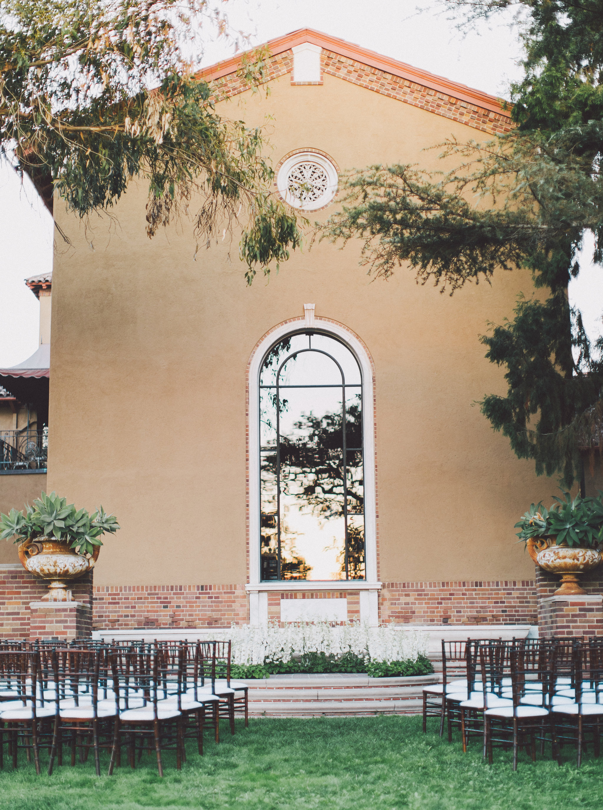 Los Angeles Mansion Wedding Ceremony