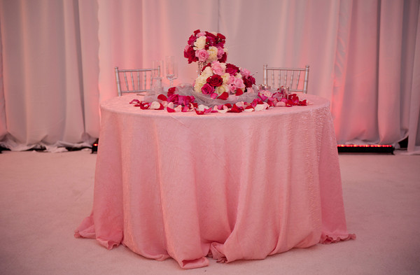 Pink Sweetheart Table