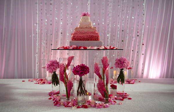 My favorite cake table