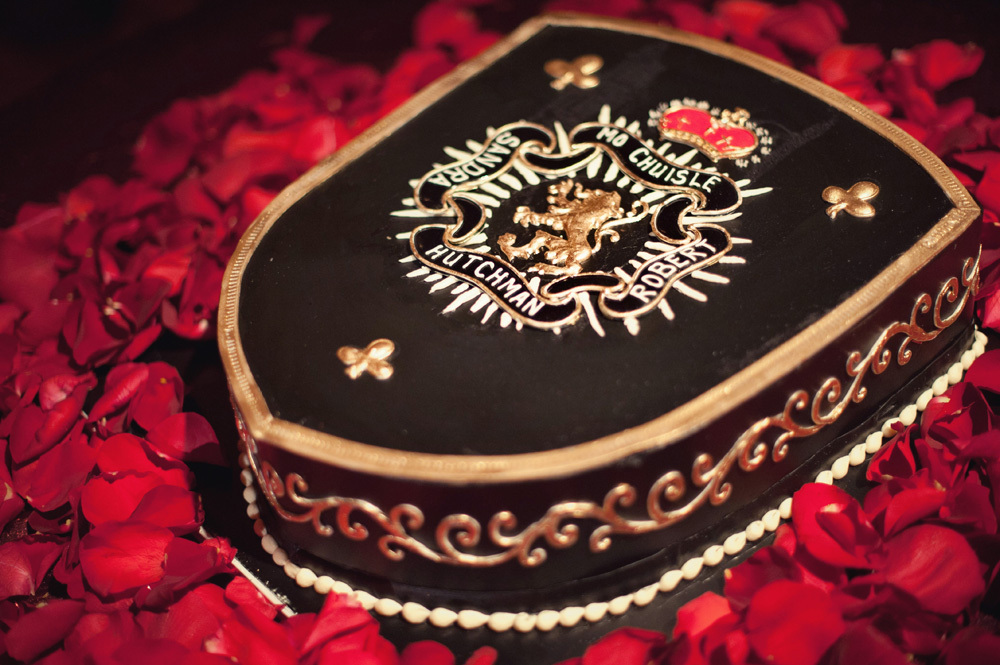 Irish Coat of Arms Groom's cake