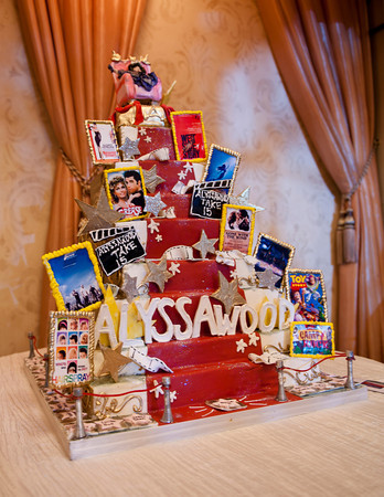 Hollywood Themed Cake