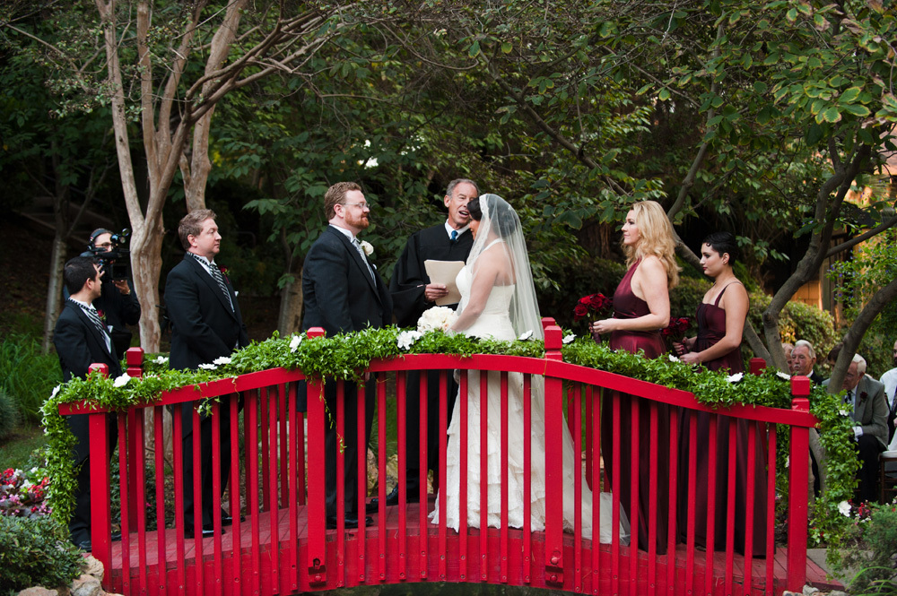Langham Hotel Wedding on the Bridge