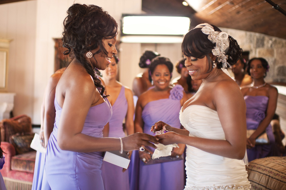 Matron of Honor and Bridesmaids