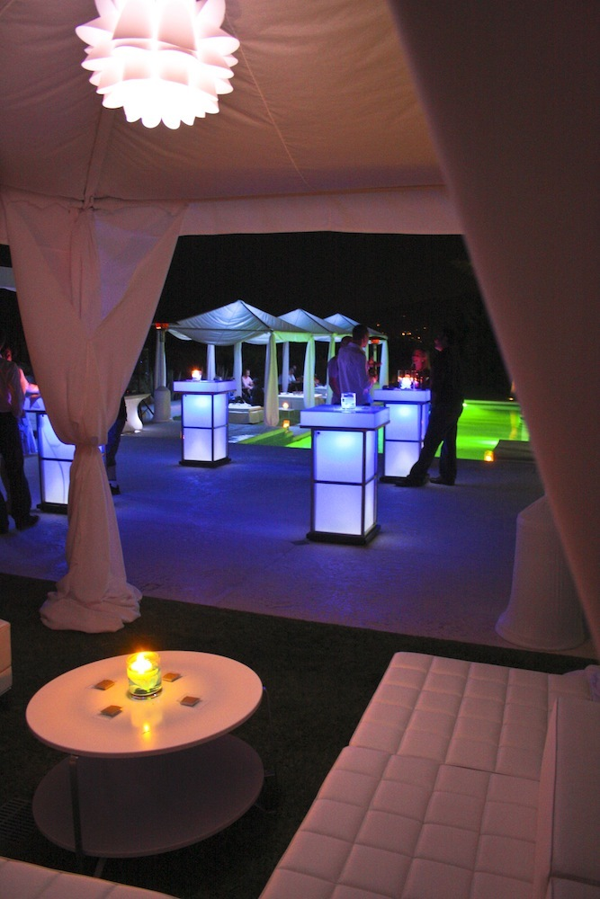 LED Party Tables