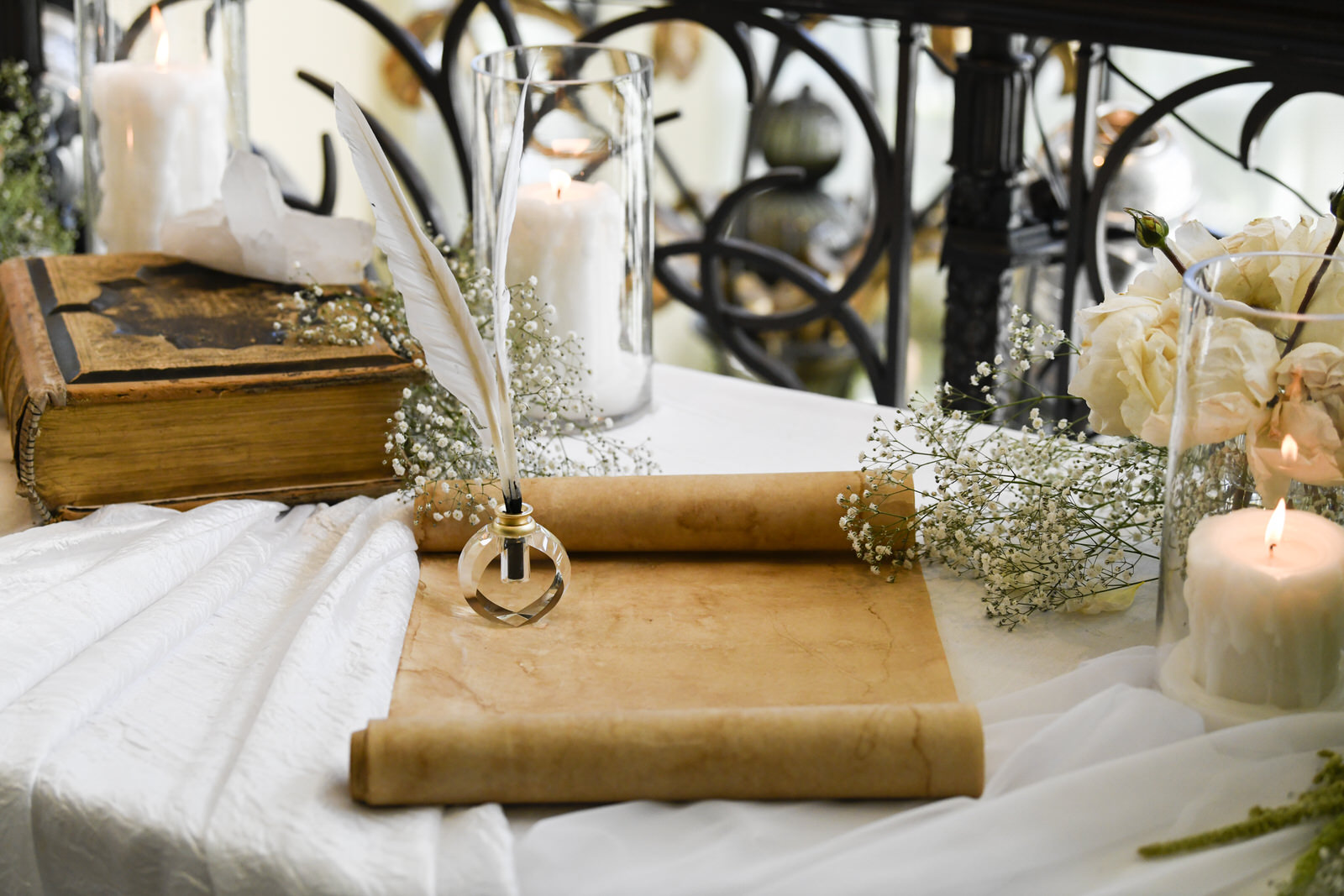 Wedding Scroll Guest Book