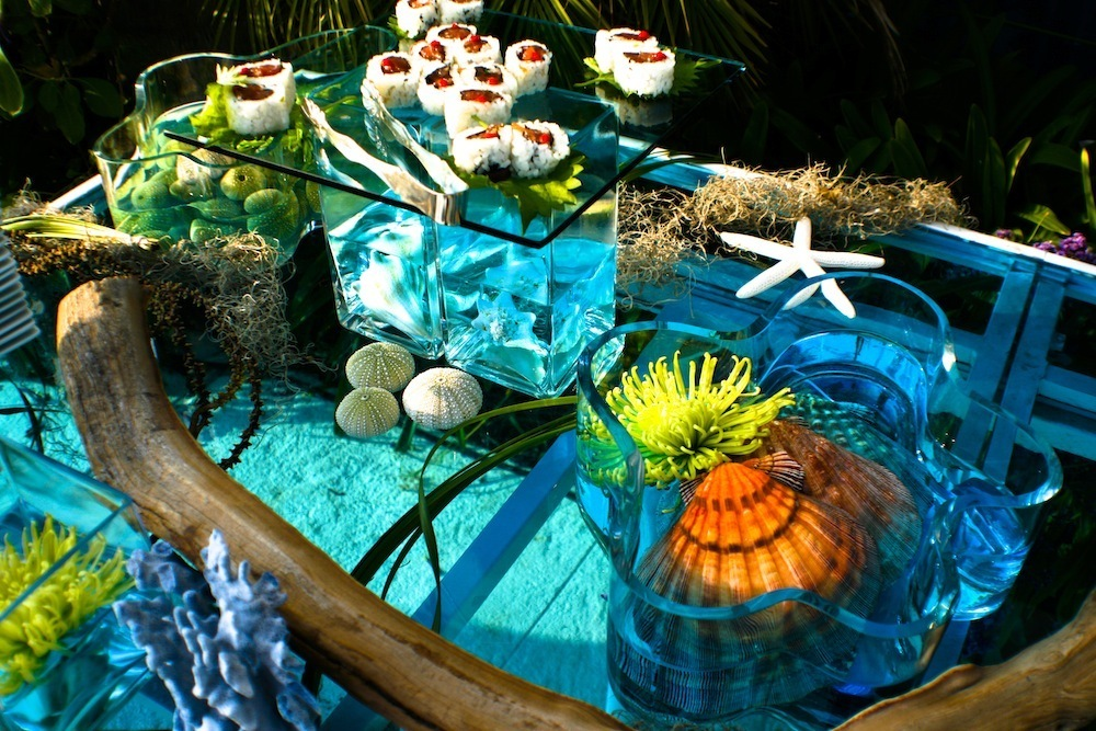 Ocean Designed Sushi Table