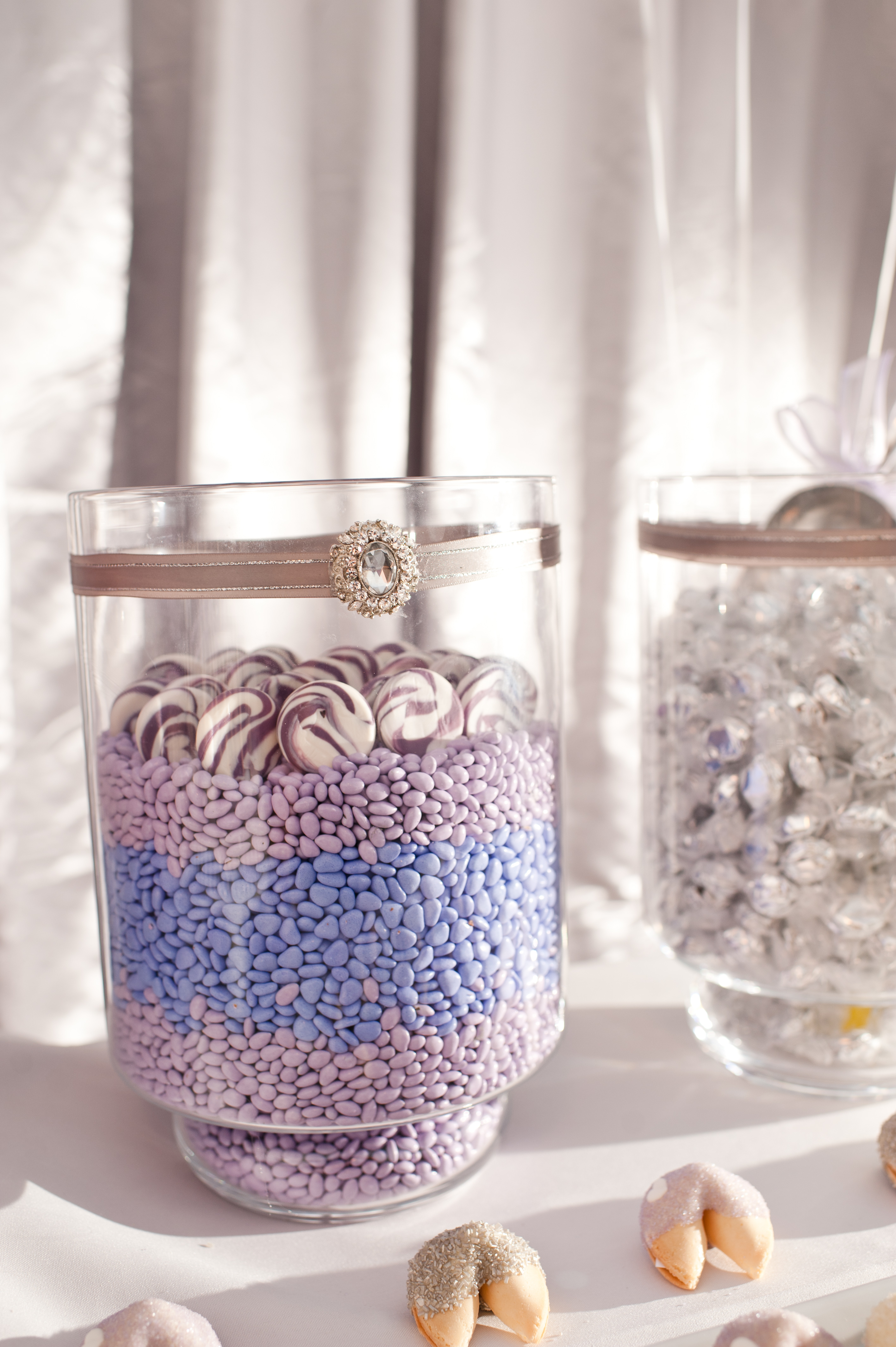 Lavender and Silver Candy Station