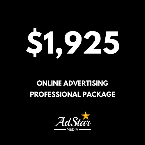 Professional Ad Package