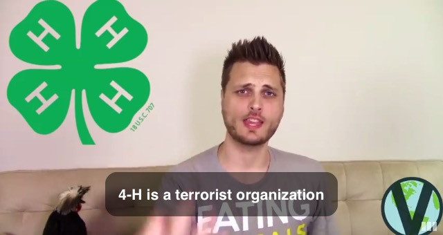 No, Brandon Kirkwood. 4H is not a Terrorist Organization.