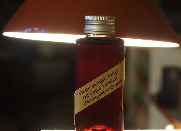 Violin Varnish Italy - Madagascar Copal Oil Varnish 100 ml