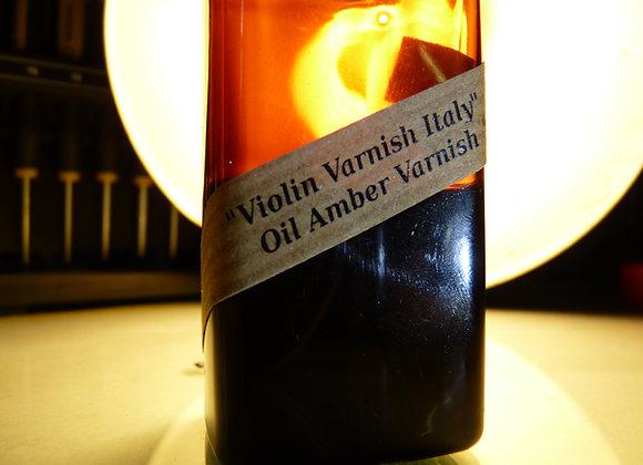 Violin Varnish Italy - Amber Oil Varnish - 100 ml