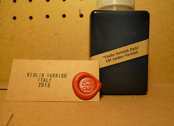 Violin Varnish Italy - Oil Amber Varnish 250 ml discounted