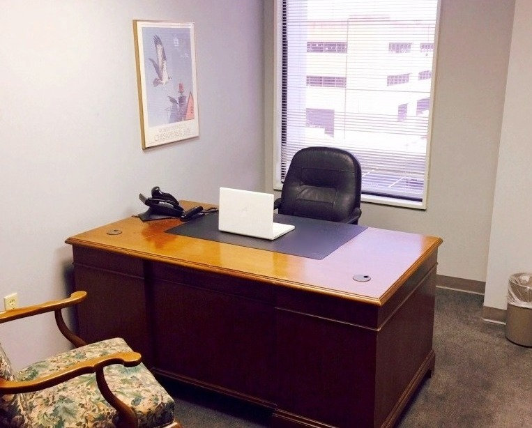 *BOOKED* Closed Door Office Space