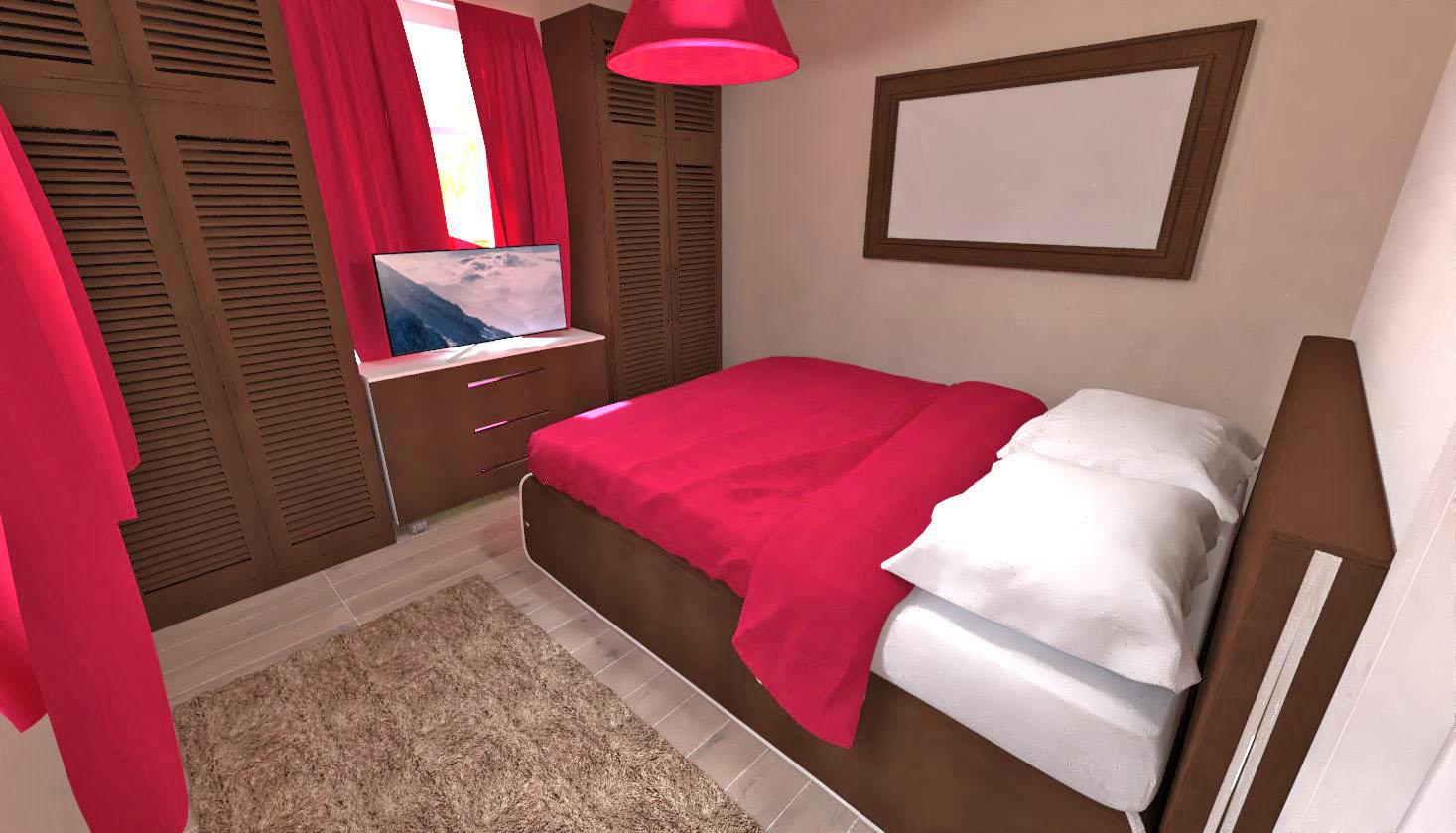 Domus 3D hotelbedroom