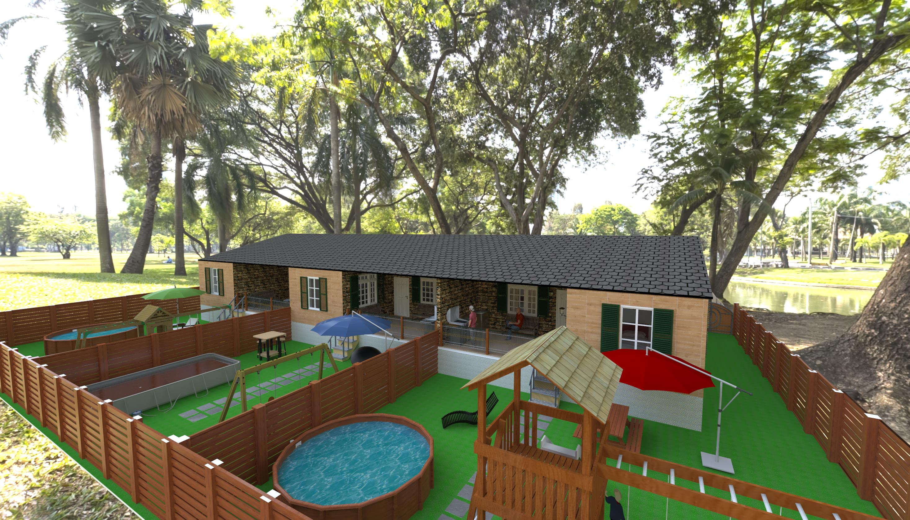 Domus 3D house triplex