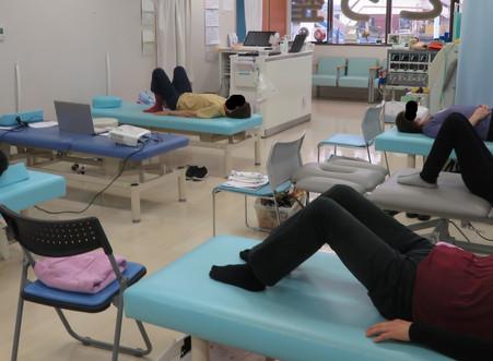 腰痛予防教室