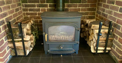 Wood Burner & Holders