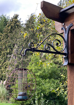 Ornamental Hanging Basket Bracket
