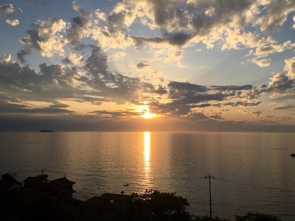 長門の夕陽