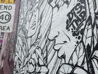 個性溢れるgraffitiの街 Fitzroy