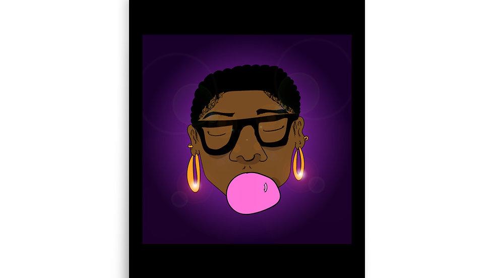 Bubble Gum Cutie Poster