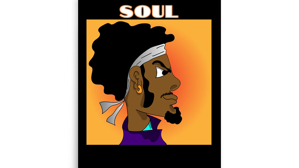 Afro Soul Poster