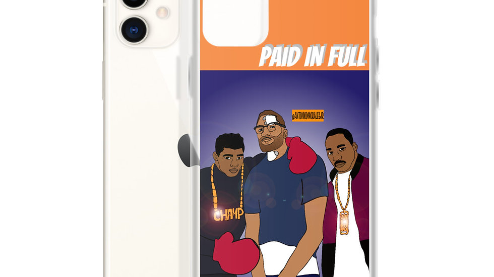 Paid In Full iPhone Case