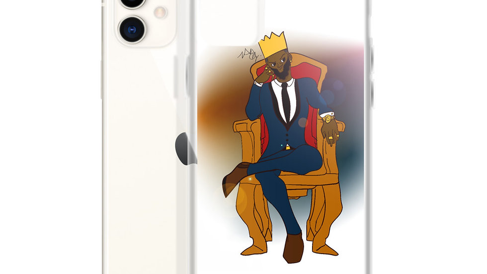 Young King iPhone Case