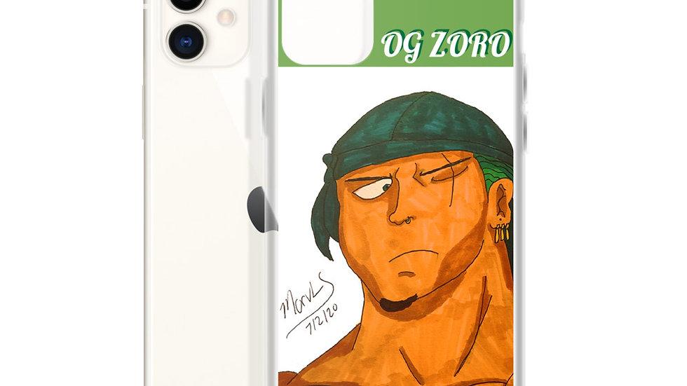 OG Zoro iPhone Case